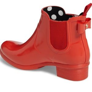 NWOB Kate Spade Telly Rainboots-Red